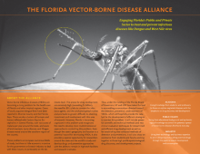 Florida Vector Borne Diseases Alliance: 2011